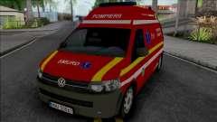 Volkswagen Transporter T5 Fire Brigade Ambulance