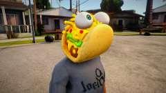 Fortnite Taco Mask For Cj for GTA San Andreas