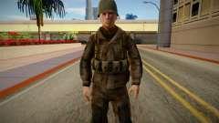 American Soldiers WW2 GTA SA for GTA San Andreas