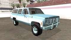 Chevrolet Deluxe Suburban 1974