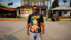 Printed T-shirt for GTA San Andreas