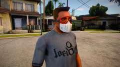 GTA V Trevor Prologue Mask For CJ for GTA San Andreas