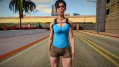 Lara Croft (Good Skin) for GTA San Andreas