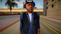 The Lost MC Biker V4 for GTA San Andreas