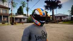 NOLAN X-803 Helmet [Alex Rins 2019 Edition] for GTA San Andreas