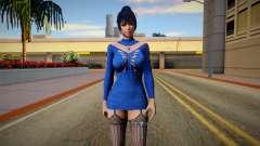 DOAXVV Nyotengu Code Rouge V2 for GTA San Andreas