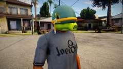 Coportal Pig Mask For Cj for GTA San Andreas