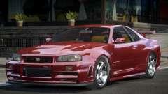 Nissan Skyline R34 Qz7 for GTA 4