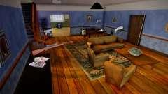 Guns at the Johnsons' house for GTA San Andreas
