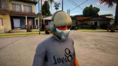 Phantom Mask For CJ for GTA San Andreas