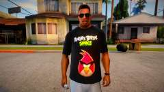 Angry Birds Space T-Shirt for GTA San Andreas