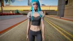 Sarah for GTA San Andreas