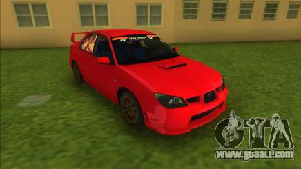 Subaru Impreza WRX STI 2006 for GTA Vice City