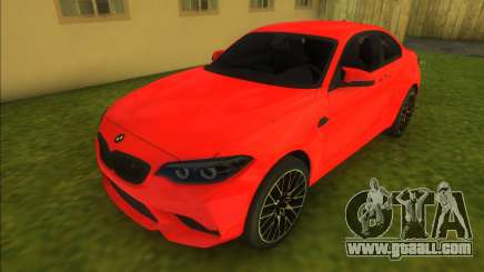 BMW M2 Competition 2018 for GTA Vice City
