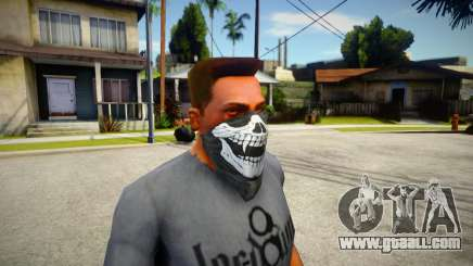 Ghost Mask for GTA San Andreas