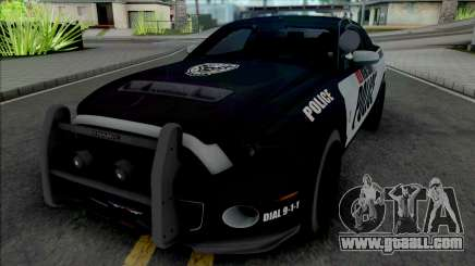 Ford Mustang Shelby GT500 Police for GTA San Andreas