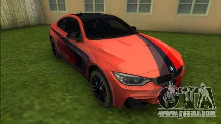 BMW M4 F82M Performance for GTA Vice City