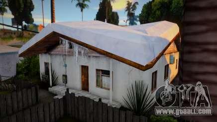 Winter Gang House 1 for GTA San Andreas