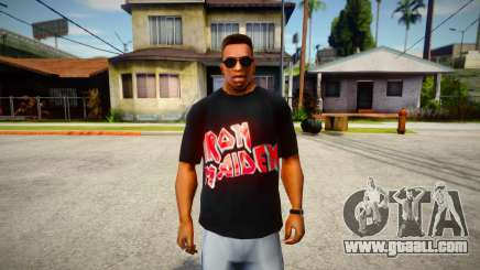 Iron Maiden T-Shirt (good textures) for GTA San Andreas