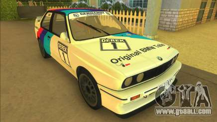 BMW M3 E30 DTM Group A for GTA Vice City
