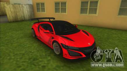 Acura NSX Liberty Walk for GTA Vice City