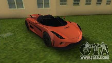 Koenigsegg Regera for GTA Vice City
