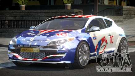 Renault Megane PSI-R PJ3 for GTA 4