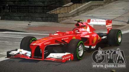 Ferrari F138 R3 for GTA 4
