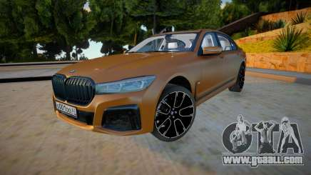 BMW 750LI 2020 for GTA San Andreas