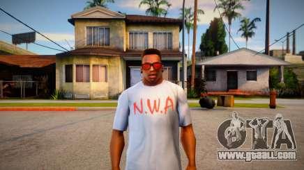 N.W.A T-shirt for GTA San Andreas
