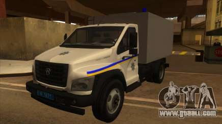 Gazon Next Autozac of the Ministry of Internal Affairs of Odessa for GTA San Andreas