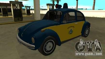 Volkswagen Beetle 94 Federal Highway Police for GTA San Andreas