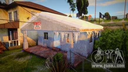 Winter Gang House 3 for GTA San Andreas