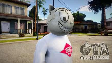 Max Schrek Statue Head For Cj for GTA San Andreas