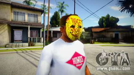 Manhunt Happy Mask For Cj for GTA San Andreas