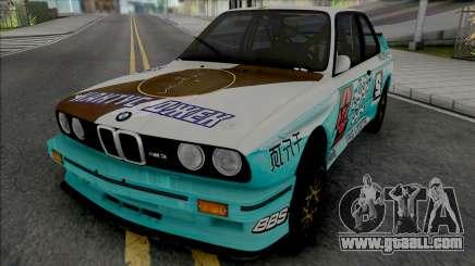 BMW M3 E30 1988 X Cactus Jack for GTA San Andreas