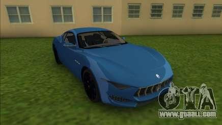 Maserati Alfieri for GTA Vice City