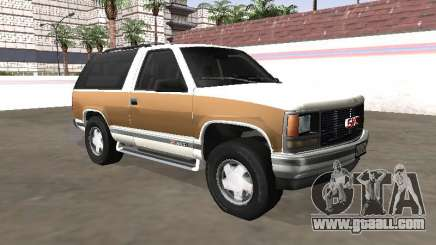 1994 GMC Yukon Blazer for GTA San Andreas