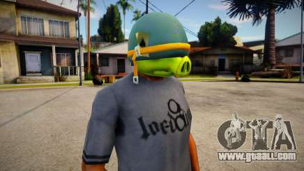 Coportal Pig Mask For Cj for GTA San Andreas