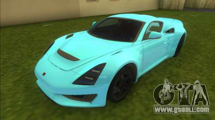 Saleen S1 2018 for GTA Vice City