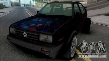Volkswagen Jetta MK2 (Double Rear Wheels) for GTA San Andreas