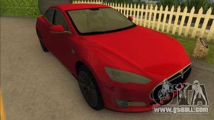 2014 Tesla Model S P85D for GTA Vice City