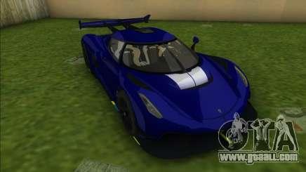 Koenigsegg Jesko for GTA Vice City