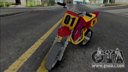 Pocket Bike v2 for GTA San Andreas