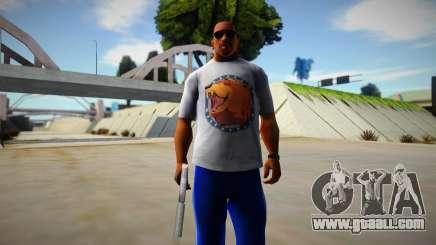 Far Cry 5 Cheeseburger Shirt for GTA San Andreas