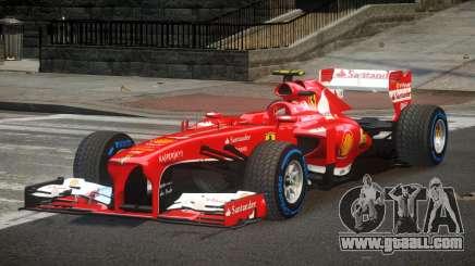 Ferrari F138 R1 for GTA 4