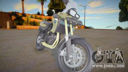 BMW F800 GS for GTA San Andreas