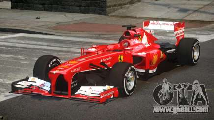 Ferrari F138 R4 for GTA 4