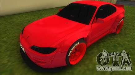 Nissan Silvia S15 Rocket Bunny for GTA Vice City