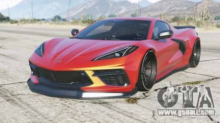 Chevrolet Corvette Stingray Mansaug (C8) 2020 for GTA 5